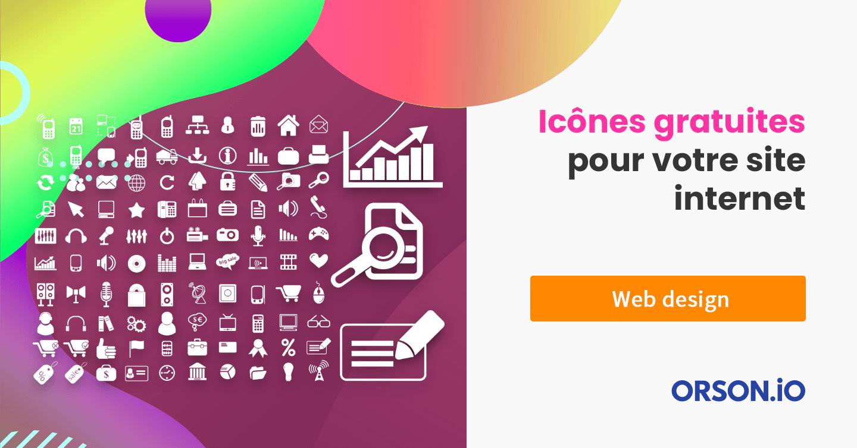 Icones site web