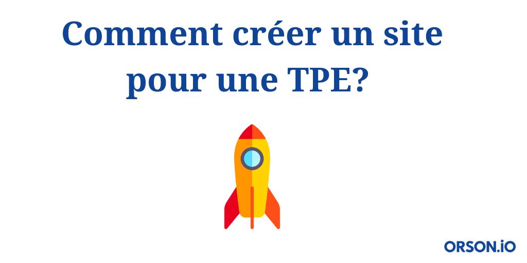 Site pour TPE
