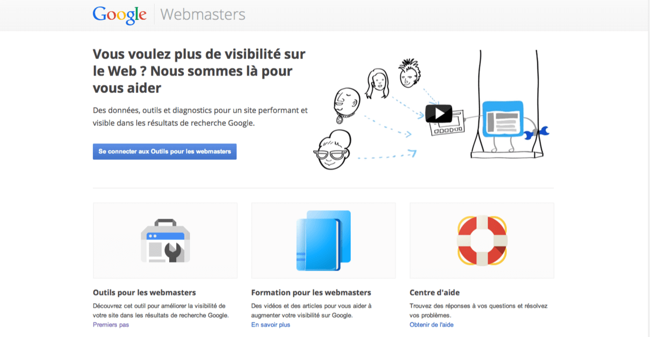 analyse site avec Google Webmaster