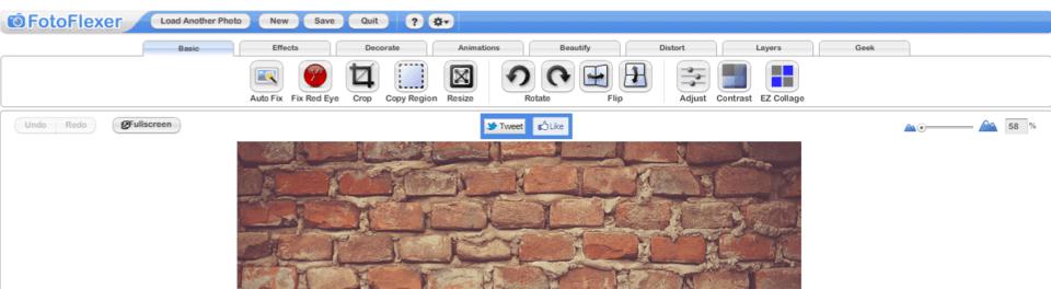 editeur image en ligne fotoflexer