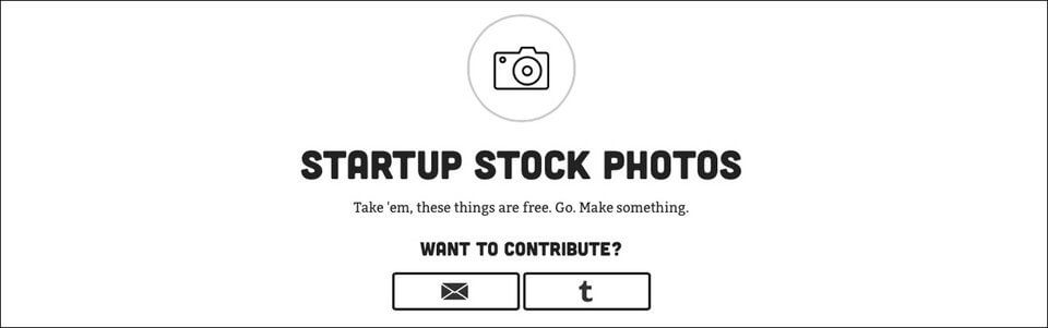 image pour site web startup stock photo