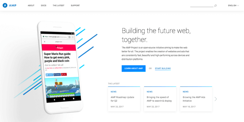 AMP : Accelerated Mobile Pages