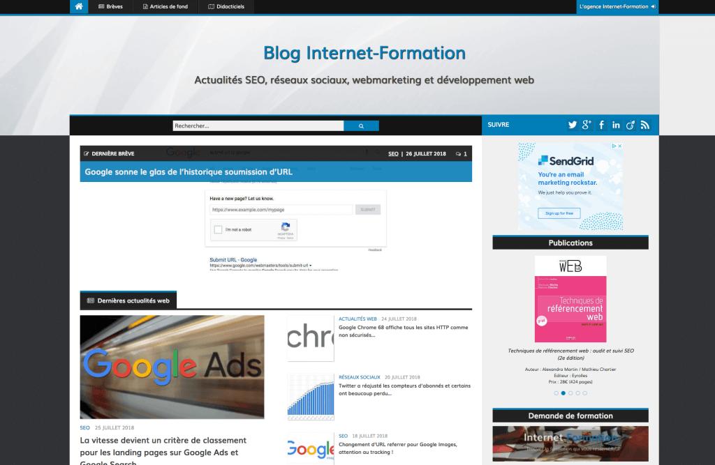 Internet formation