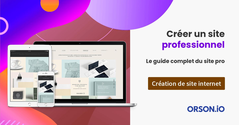 Créer un site professionnel