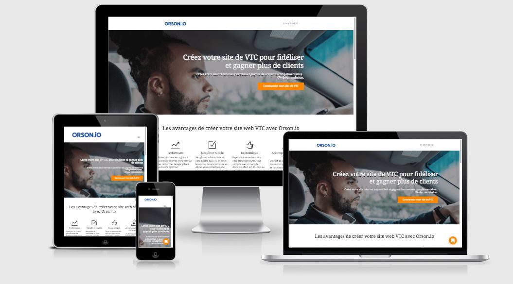 Créer un site pour VTC