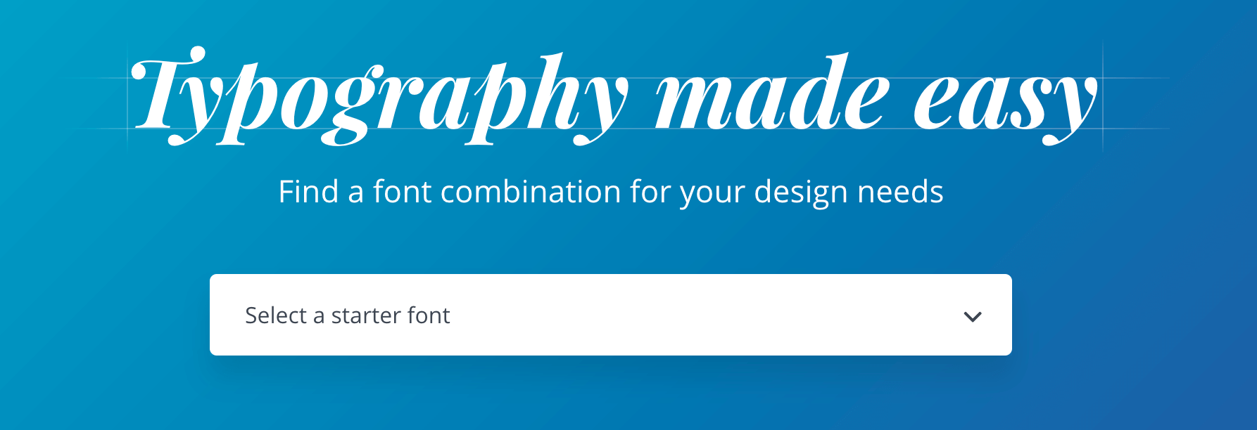 Canva font combinations