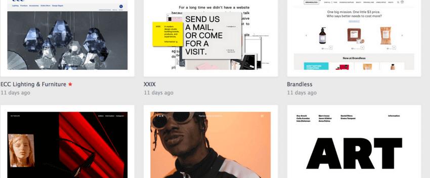 Inspiration créer site vitrine