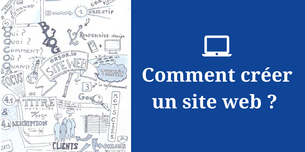 comment creer un site web
