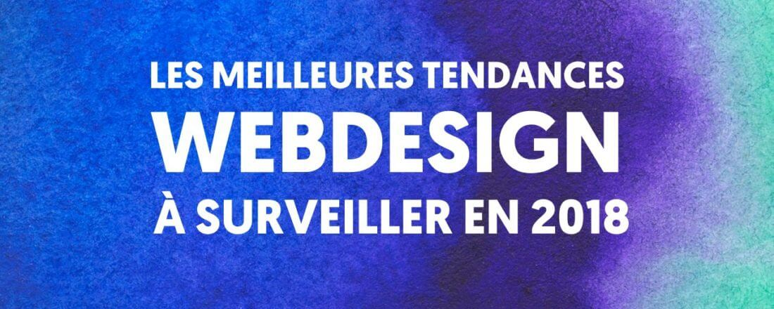 Tendances web design