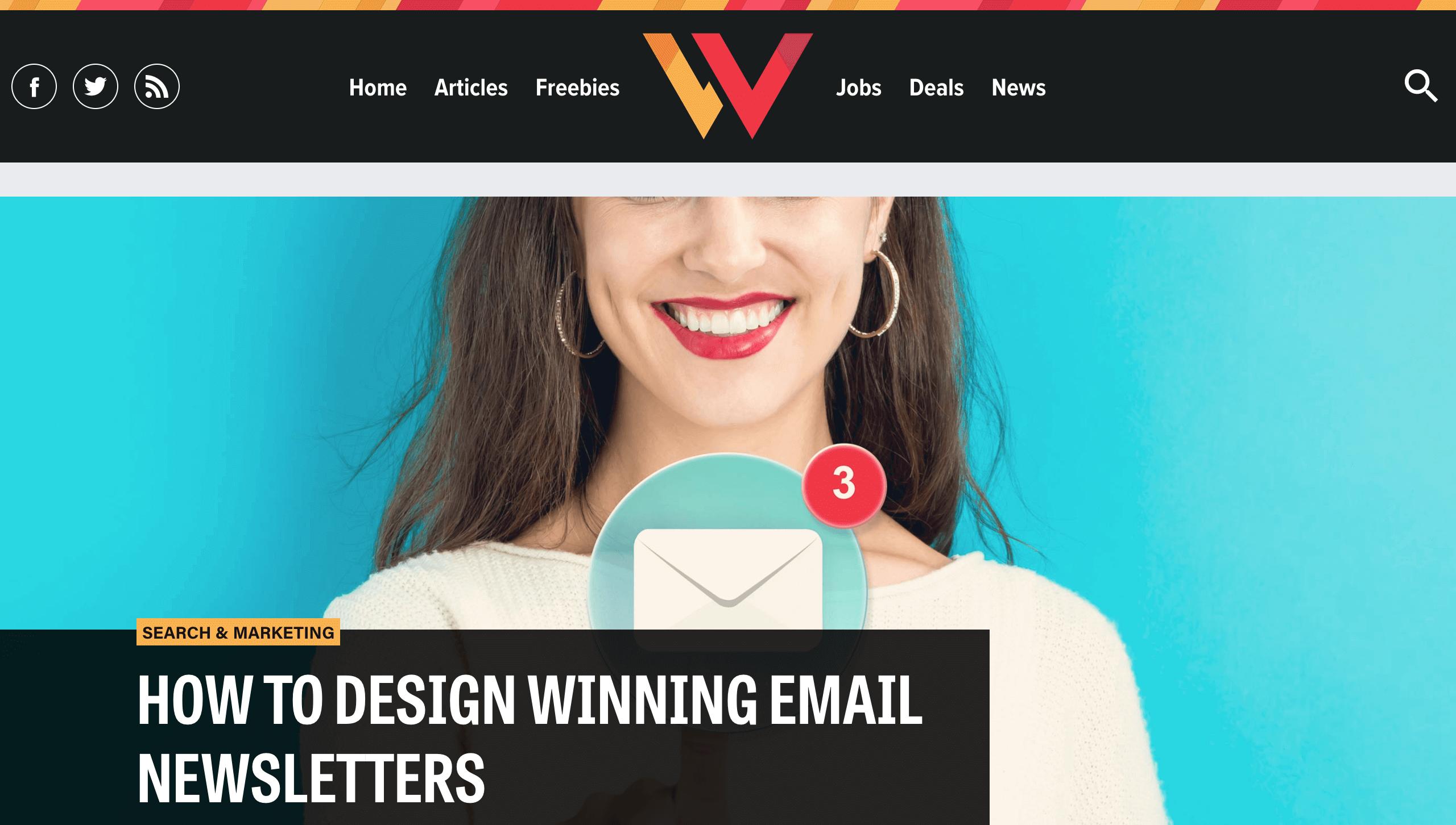 Webdesigner Depot Blog Webdesign