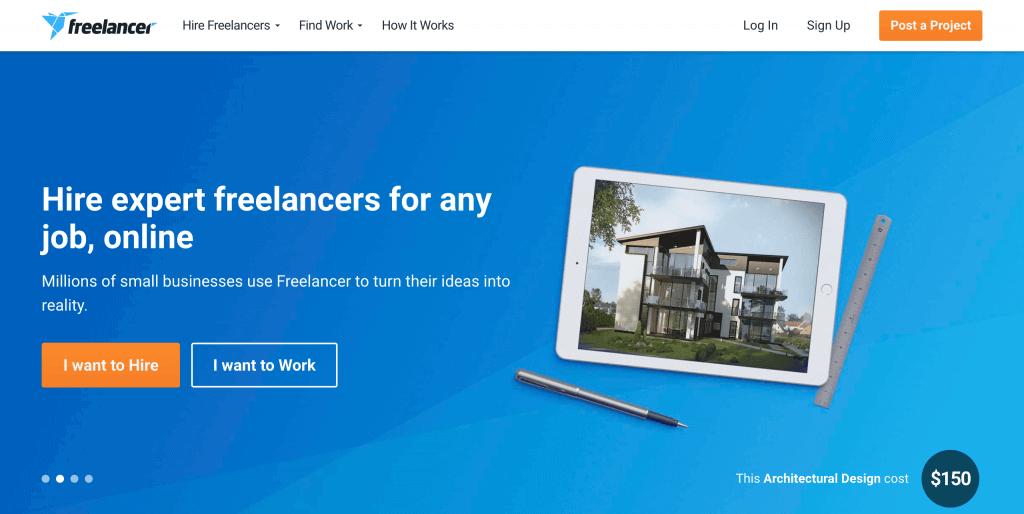Freelancer plateforme freelance