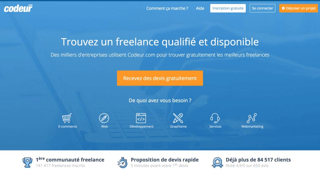 codeur plateforme freelance