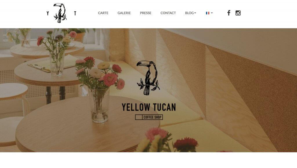 meilleur site internet yellow tucan coffe-shop
