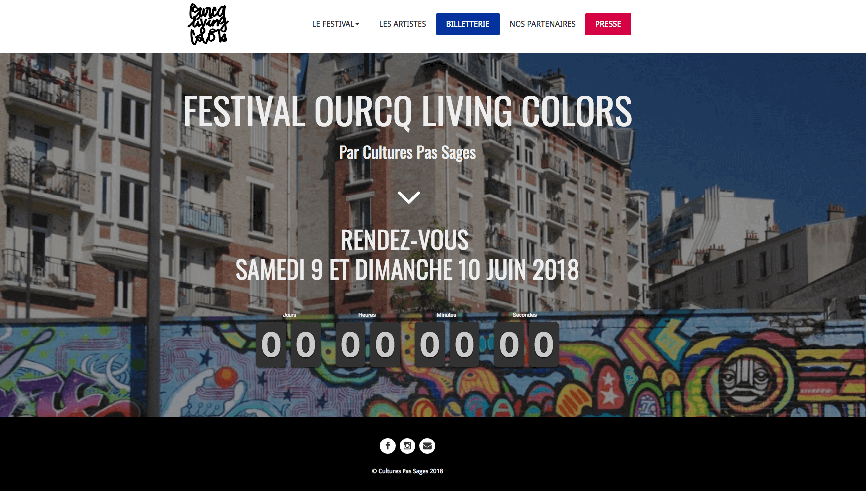 Festival Ourcq Living Colors