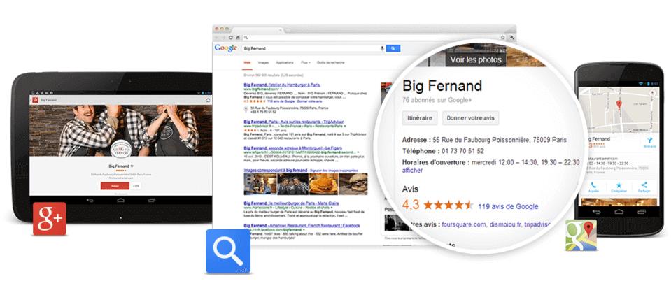 ajouter entreprise google map