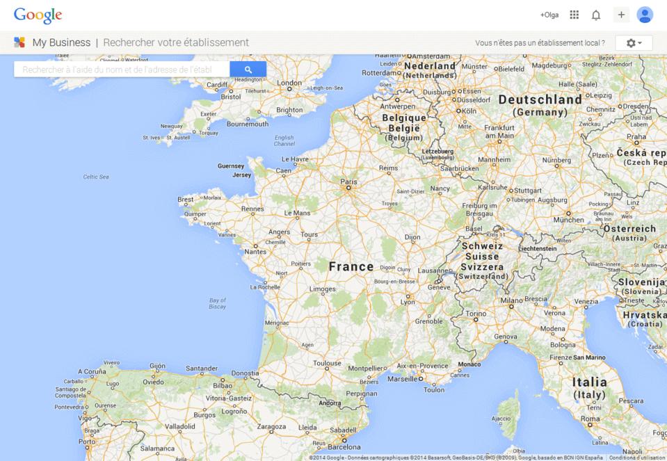 ajouter entreprise google map 5