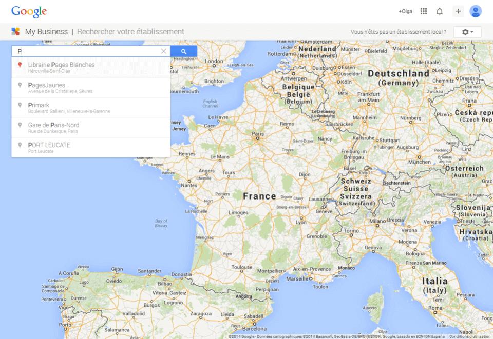 ajouter entreprise google map 6