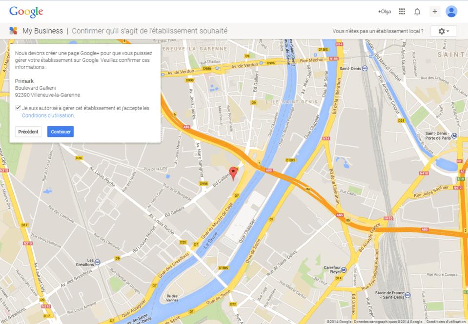 ajouter entreprise google map 9