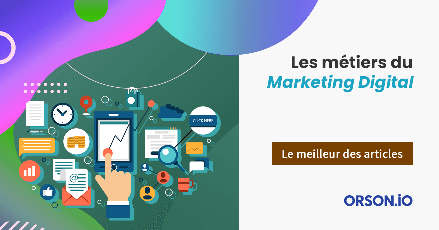 Métiers marketing digital