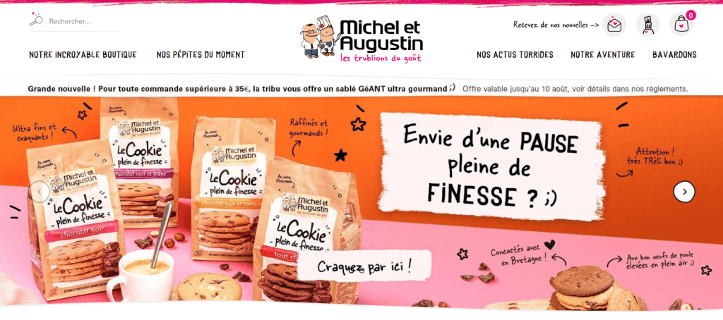 Charte Michel & Augustin