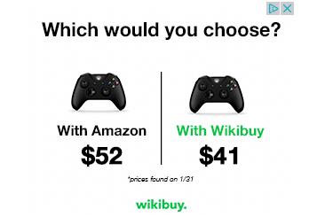 wikibuy bannière publicitaire